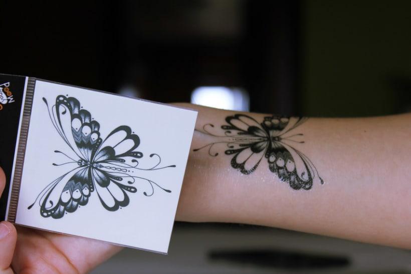 Diseño de tatuajes temporales para Gumtoo 19