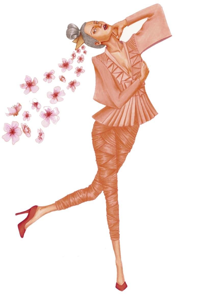 Ilustraciones de Moda 7