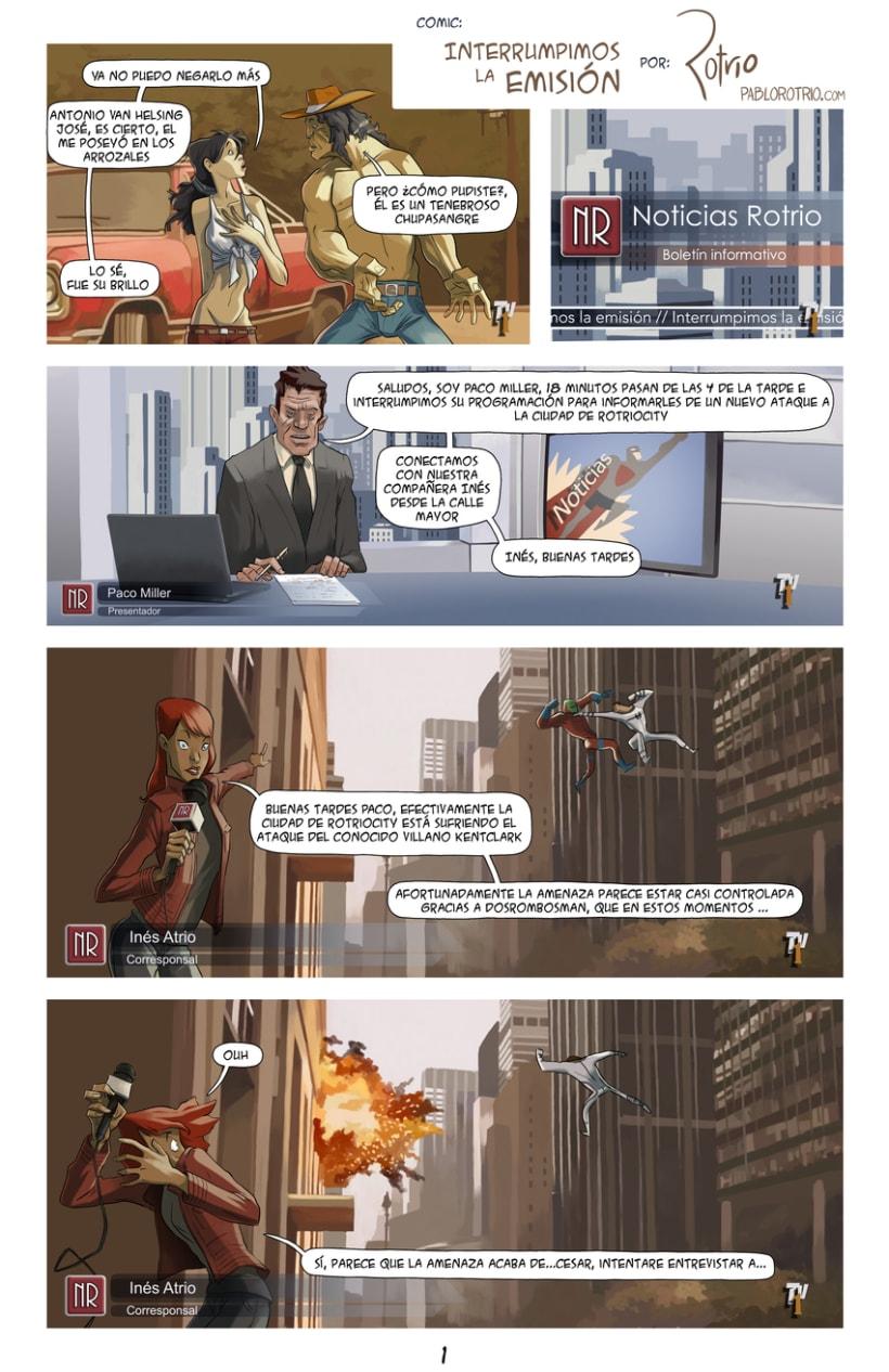 Comic: Interrumpimos la emisión 0