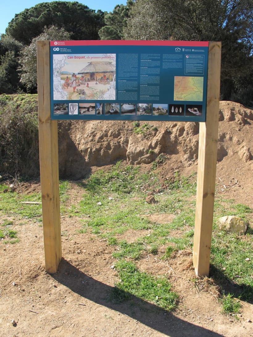 Maquetació Cartell -Parc Serralada Litoral 1