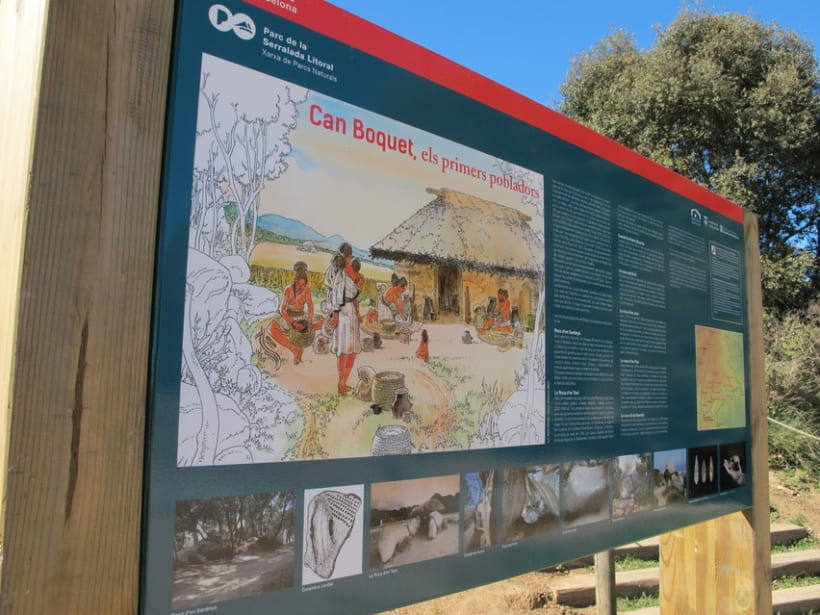 Maquetació Cartell -Parc Serralada Litoral 2