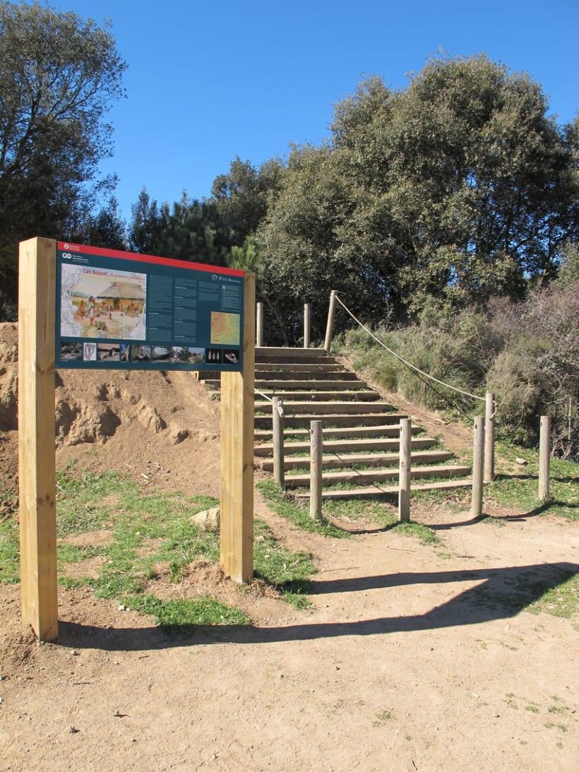 Maquetació Cartell -Parc Serralada Litoral 4
