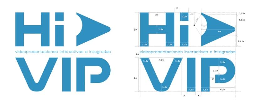 Hi VIP - Renovación de identidad visual corporativa 2