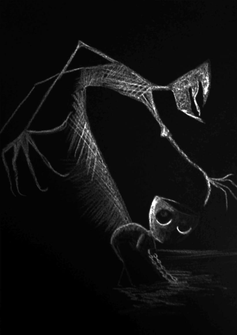 """Ilustraciones para """"Come non educare i figli"""" de Franz Kafka -1"""