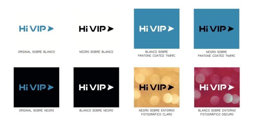 Hi VIP - Renovación de identidad visual corporativa 5