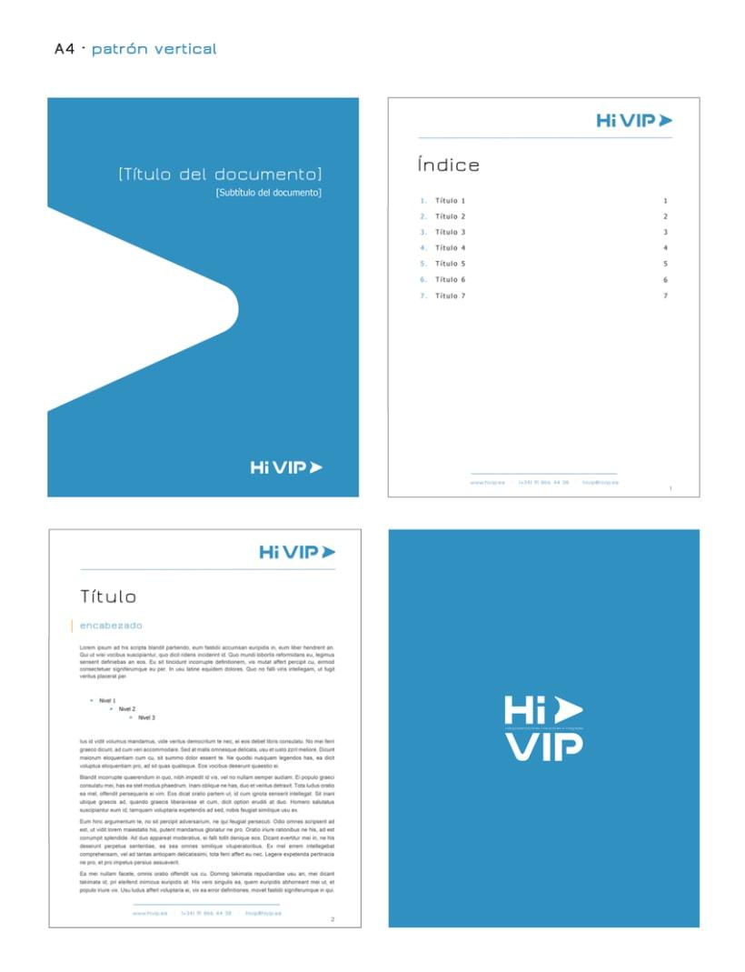 Hi VIP - Renovación de identidad visual corporativa 8