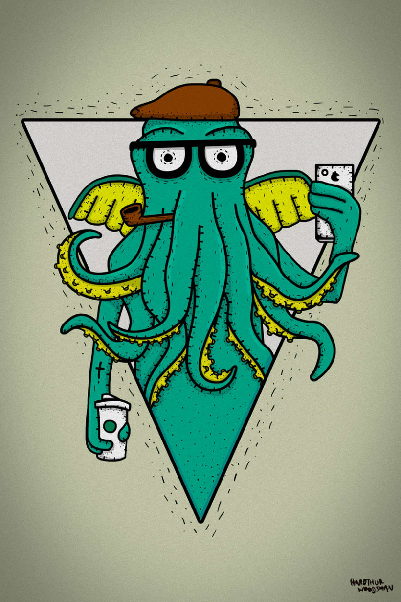 H.P. LOVECRAFT -Hipster Cthulhu 0