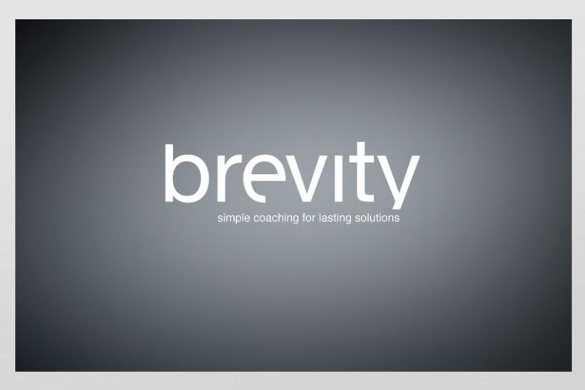 Brevity. Logo, papelería y web (responsive) 0
