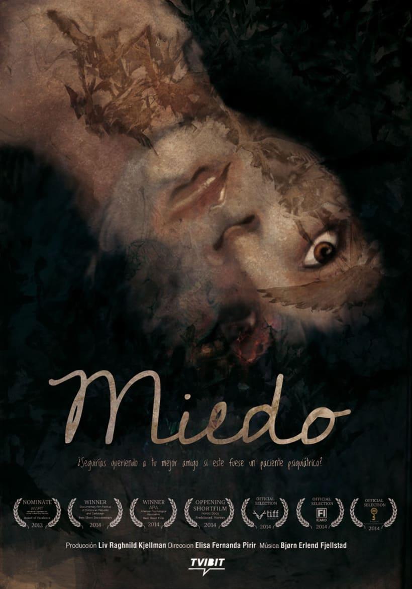 "Afiche documental ""MIEDO"" 1"