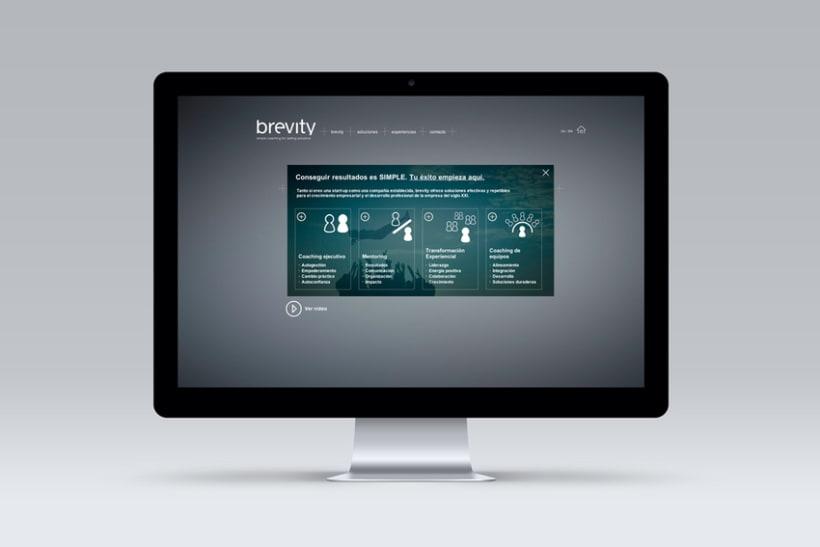 Brevity. Logo, papelería y web (responsive) 7