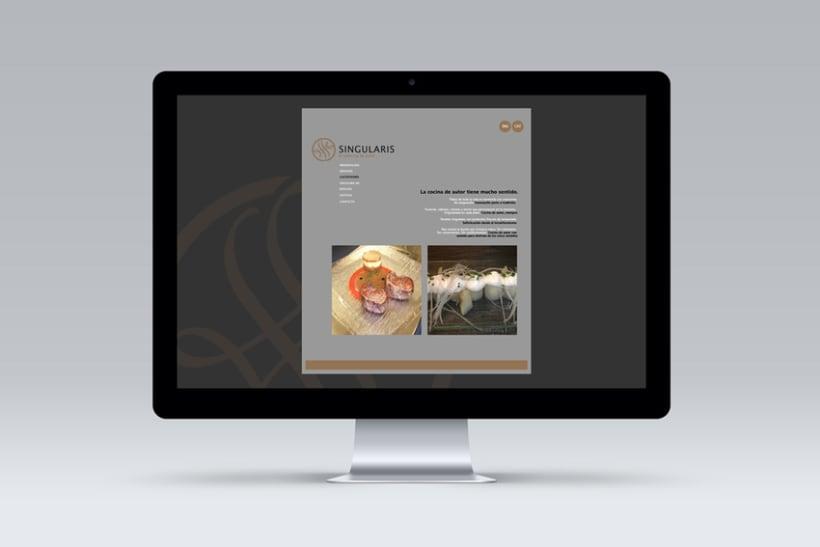 Singlaris. Web in progress 6