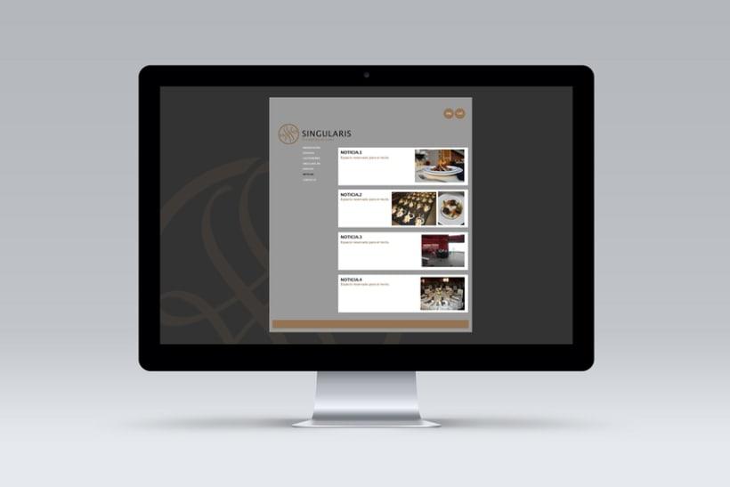 Singlaris. Web in progress 8