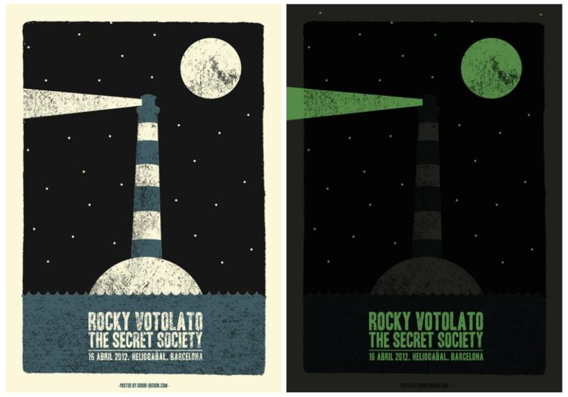 Rocky Votolato Poster - Proceso diseño 3