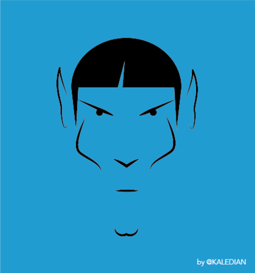 Farewell, Mr. Spock -1