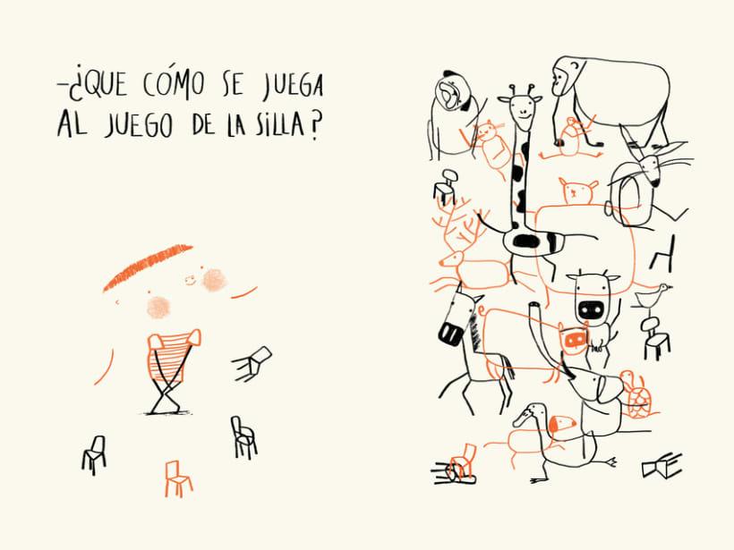 El juego de la silla (proyecto álbum ilustrado) 1