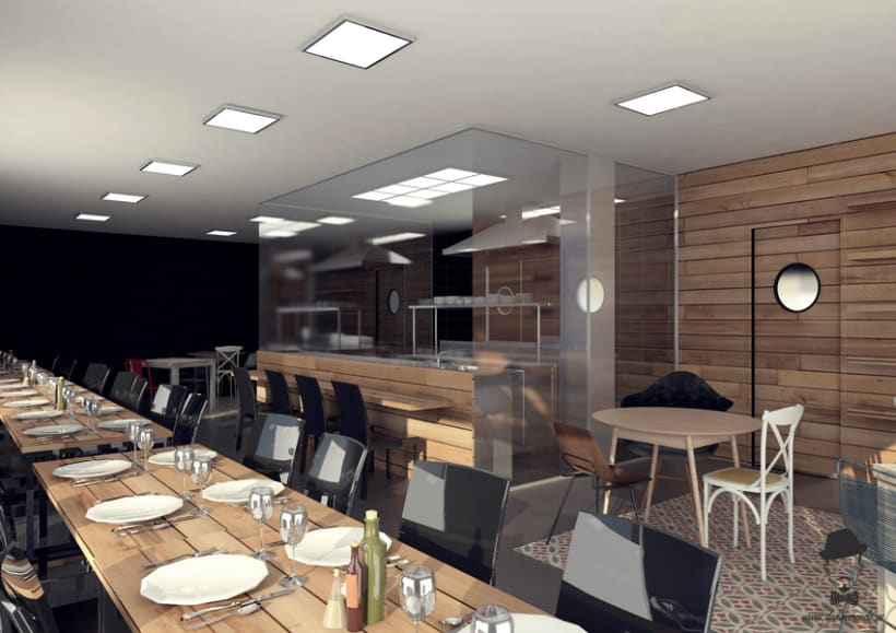 Render Interior - Restaurant -1