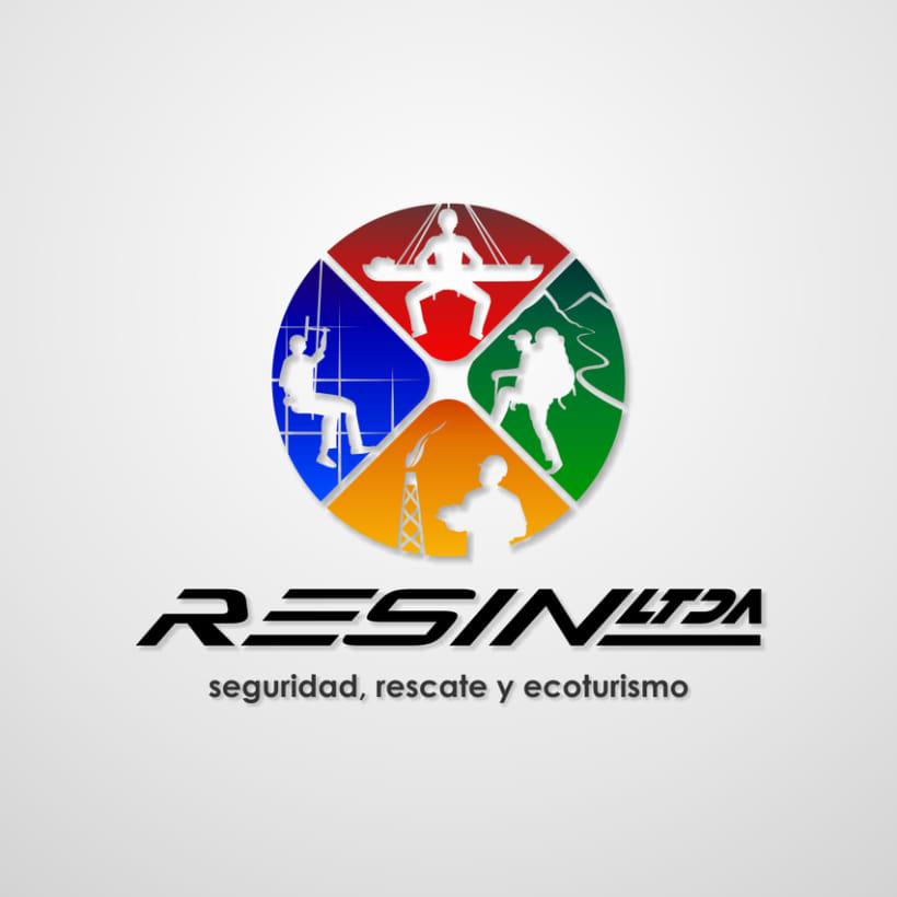 Imagotipo Resin Ltda 0