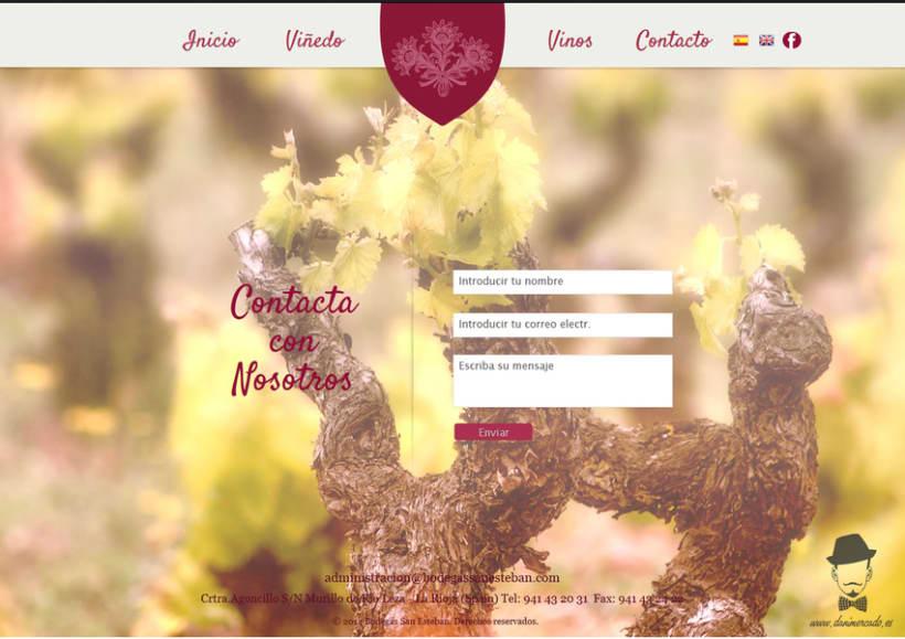 Diseño Web - Bodegas San Esteban 4