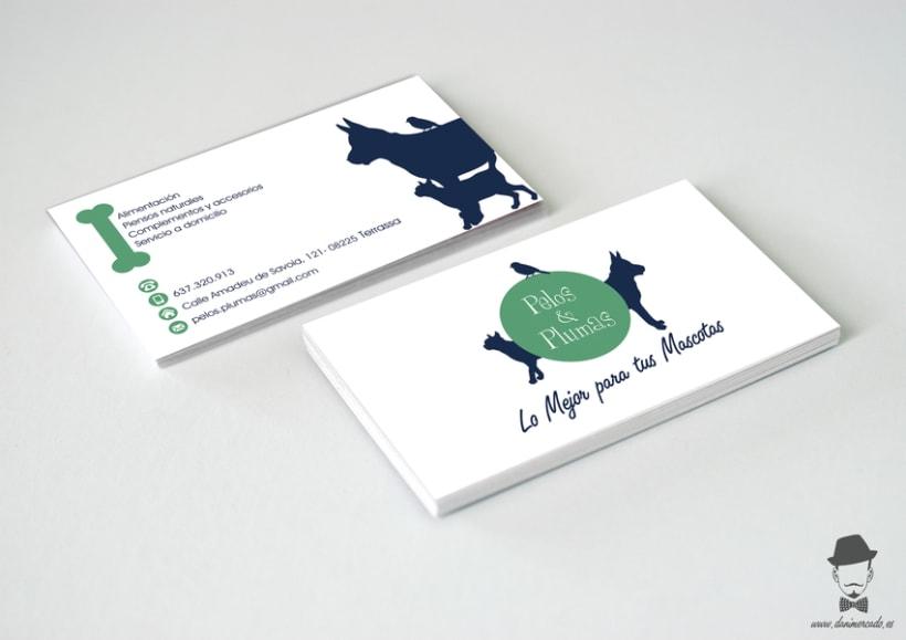 Diseño Gráfico - Tienda de Suplementos para Mascotas -1