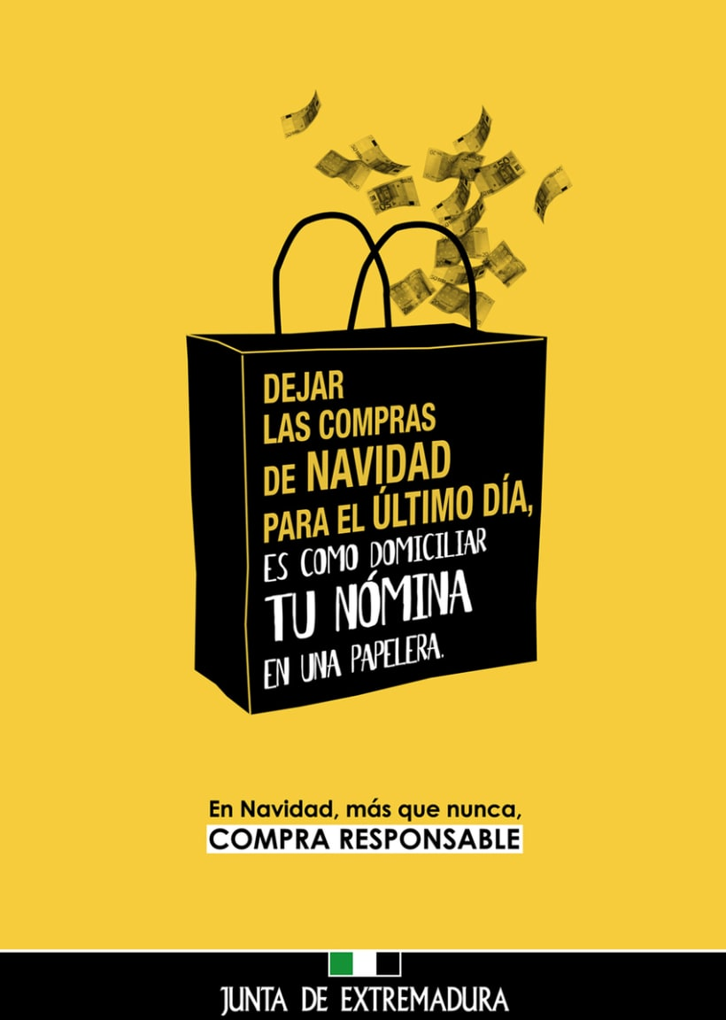 Junta de Extremadura: campaña de consumo responsable 1