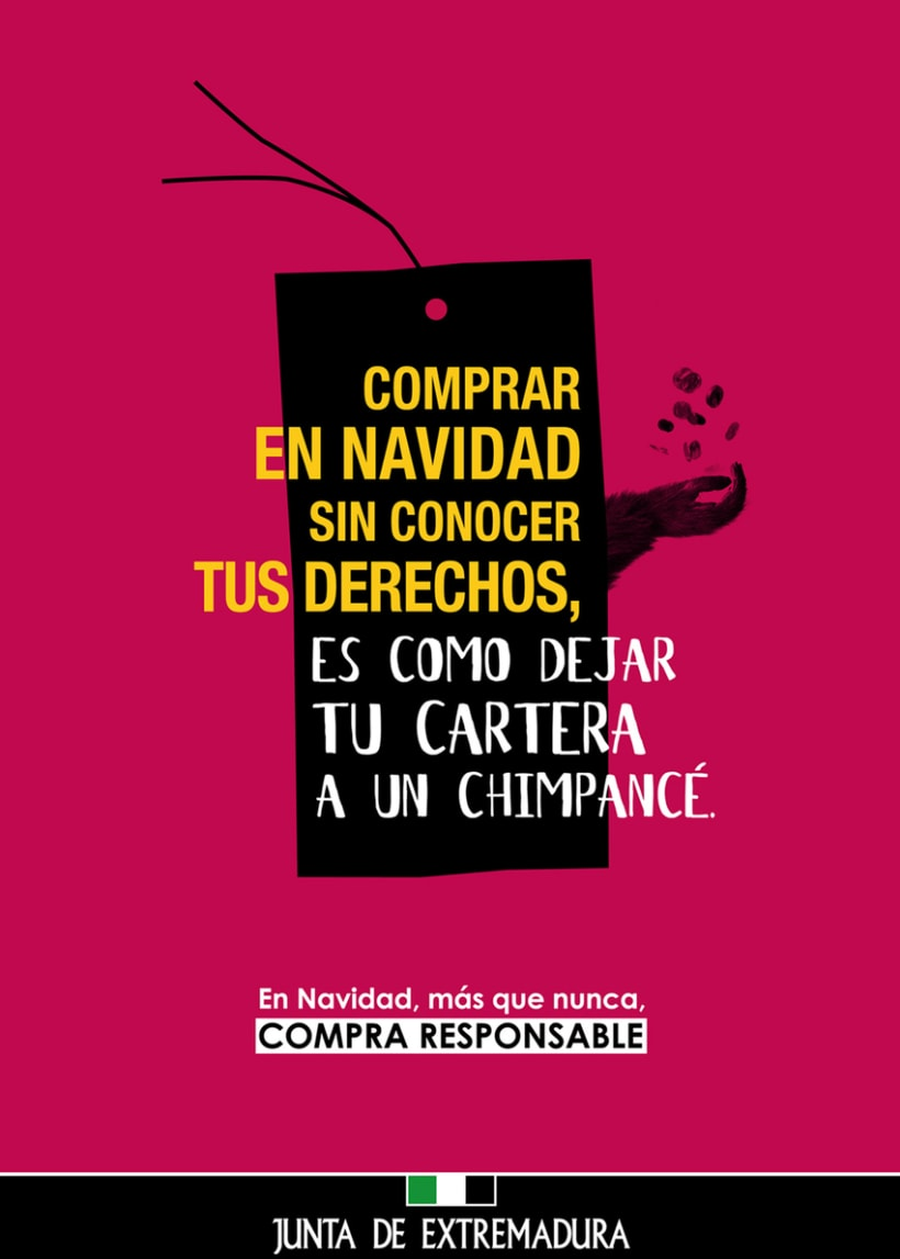 Junta de Extremadura: campaña de consumo responsable 0