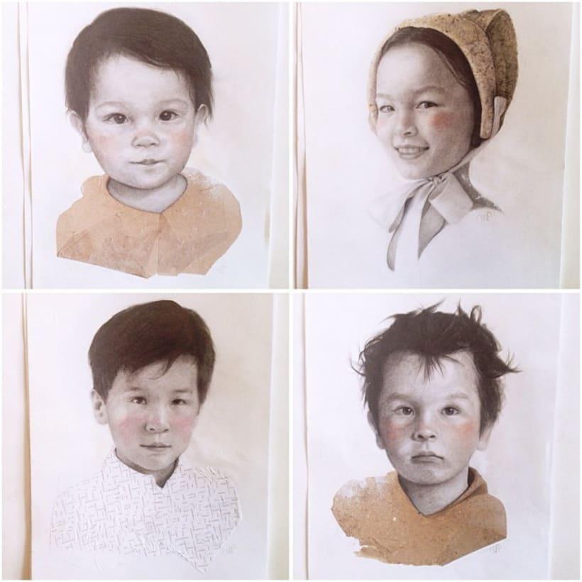 Work on commission , custom portraits. 10