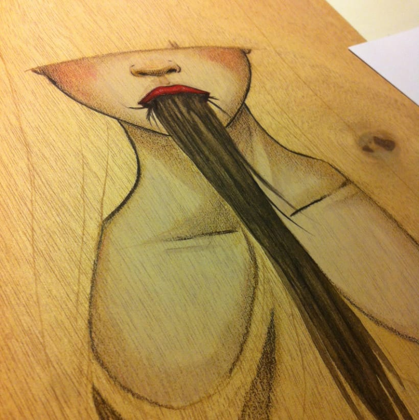 Illustration Wood  1