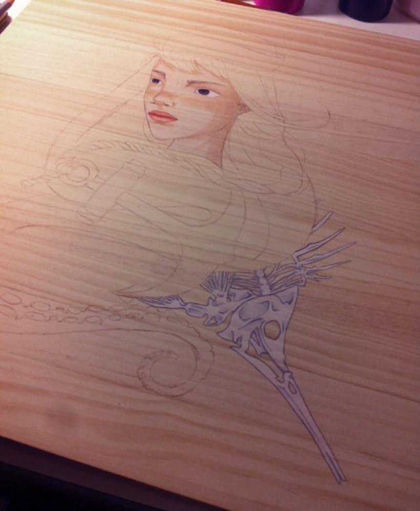 Illustration Wood  -1