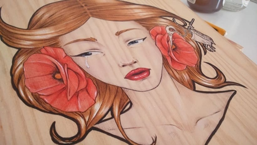 Illustration Wood  1