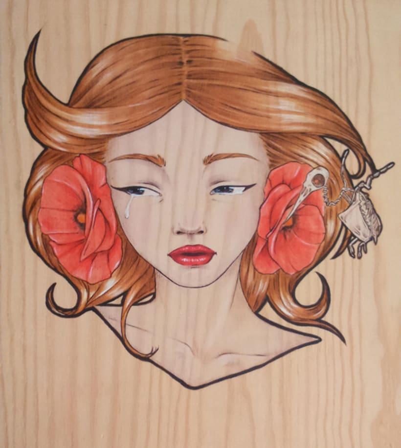 Illustration Wood  2