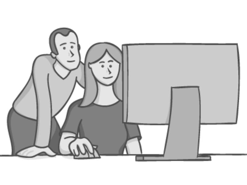 Ilustraciones para la web de la Agencia de Certificación Profesional 3