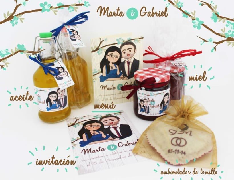 Marta y Gabriel Invitaciones 1