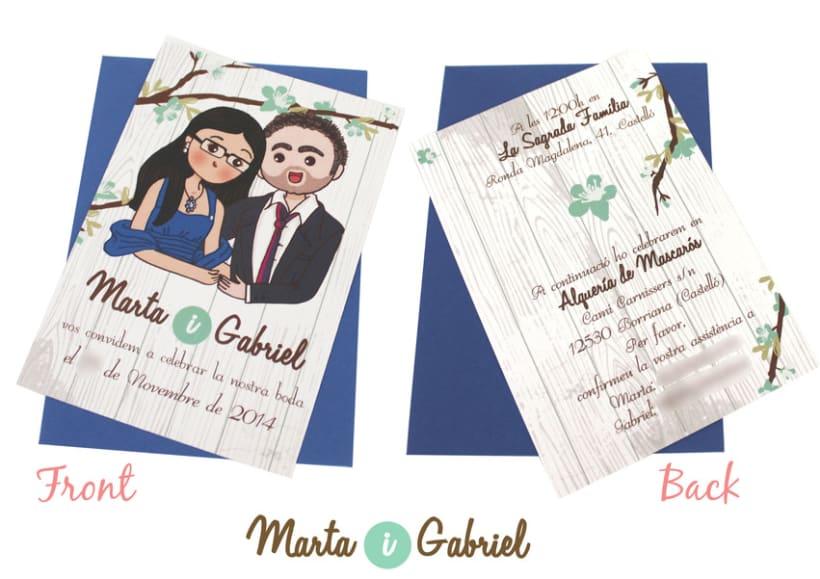 Marta y Gabriel Invitaciones 3