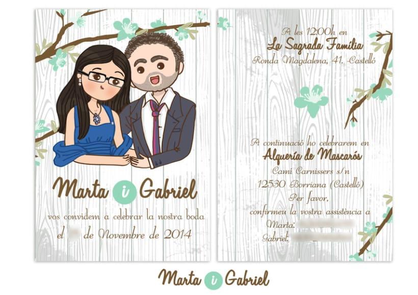 Marta y Gabriel Invitaciones 5
