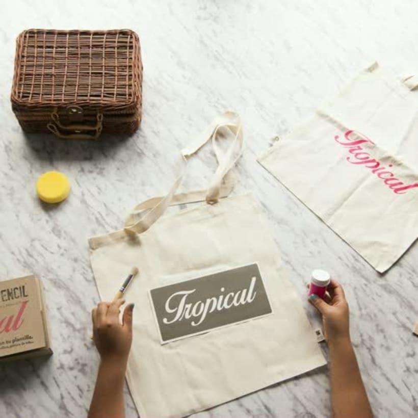 DIY-Kit Stencil Lettering 3