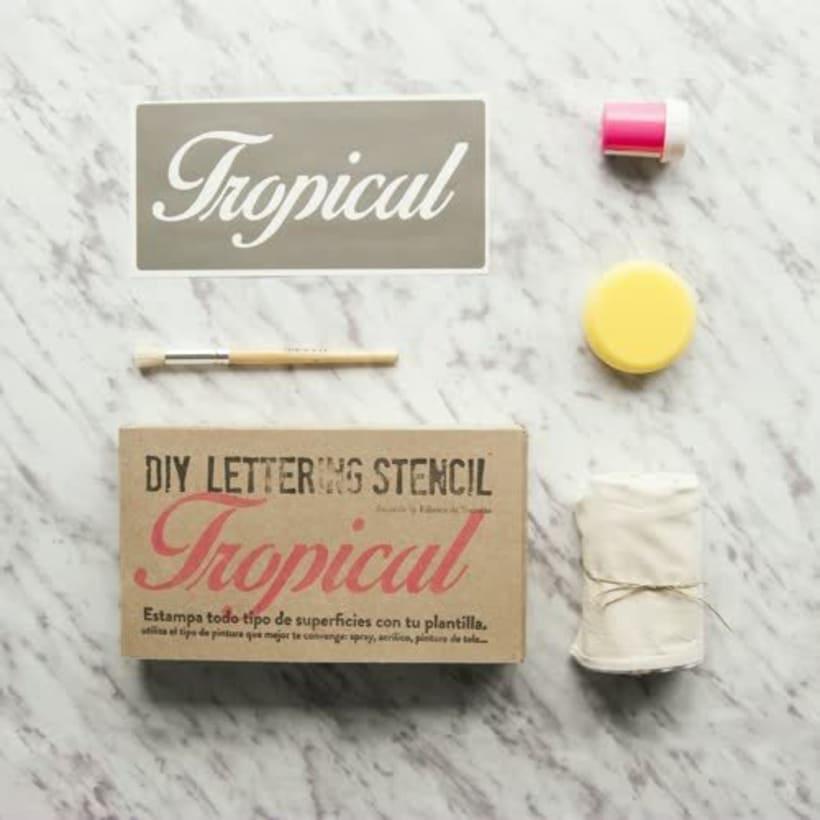 DIY-Kit Stencil Lettering 2