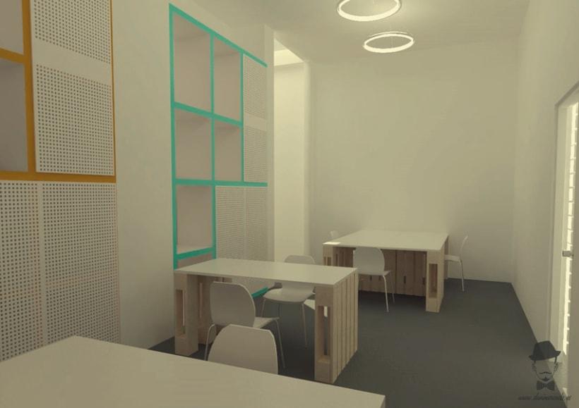 Render Interior - Arrels, Proyecto para alumnos de un Master en Interiorismo 2