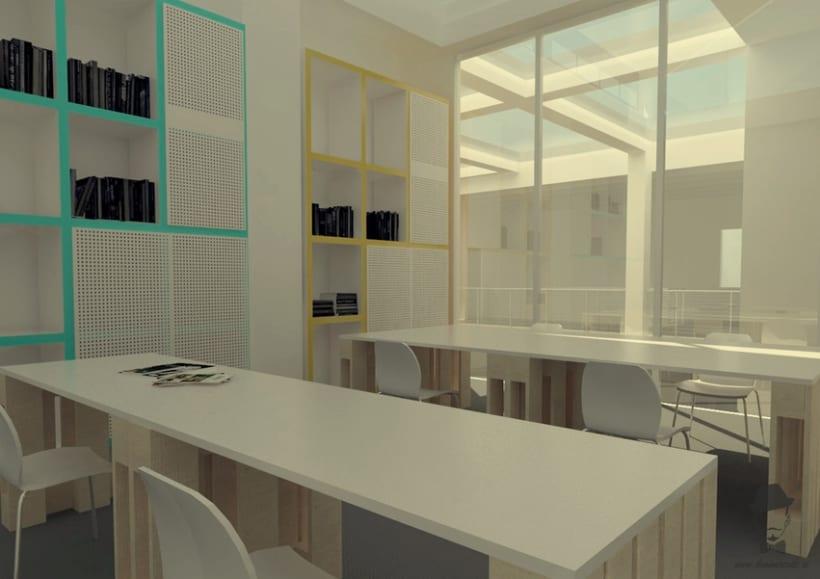 Render Interior - Arrels, Proyecto para alumnos de un Master en Interiorismo 3