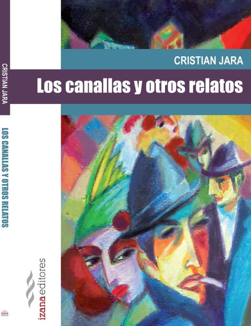"""""""Los Canallas"""" Nuevo trabajo de ilustración de portada para Izana Editores -1"""