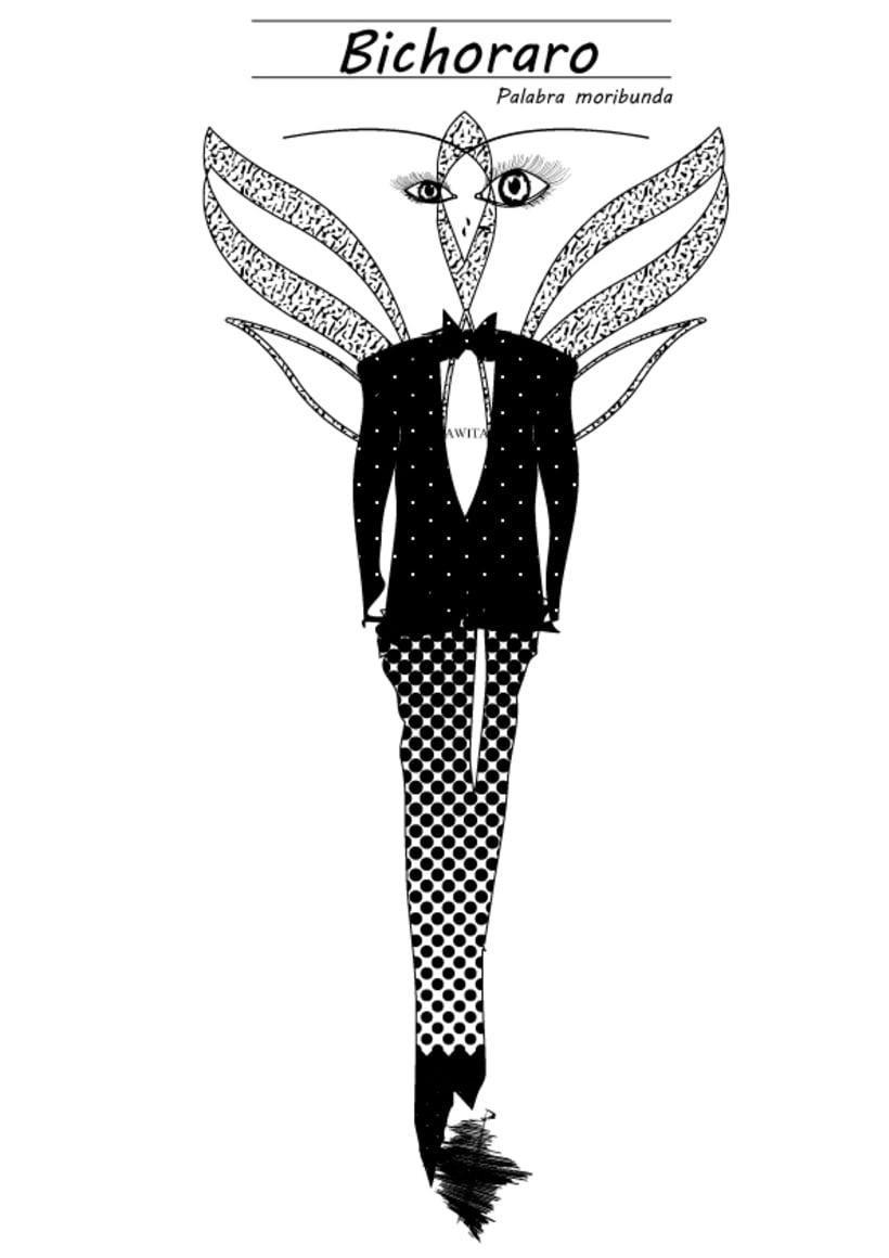Palabras Moribundas ilustradas by Awita 1