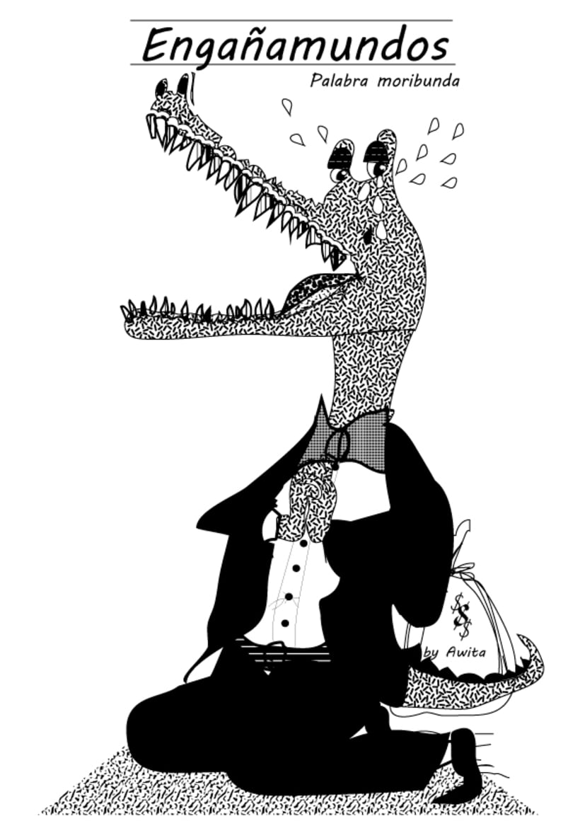 Palabras Moribundas ilustradas by Awita 7