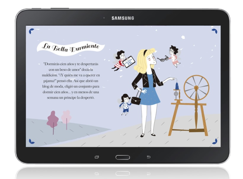 Ilustraciones Samsung Feria Libro Madrid 0