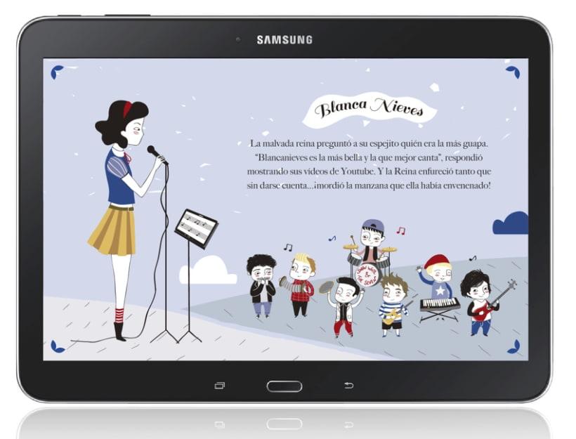 Ilustraciones Samsung Feria Libro Madrid 1