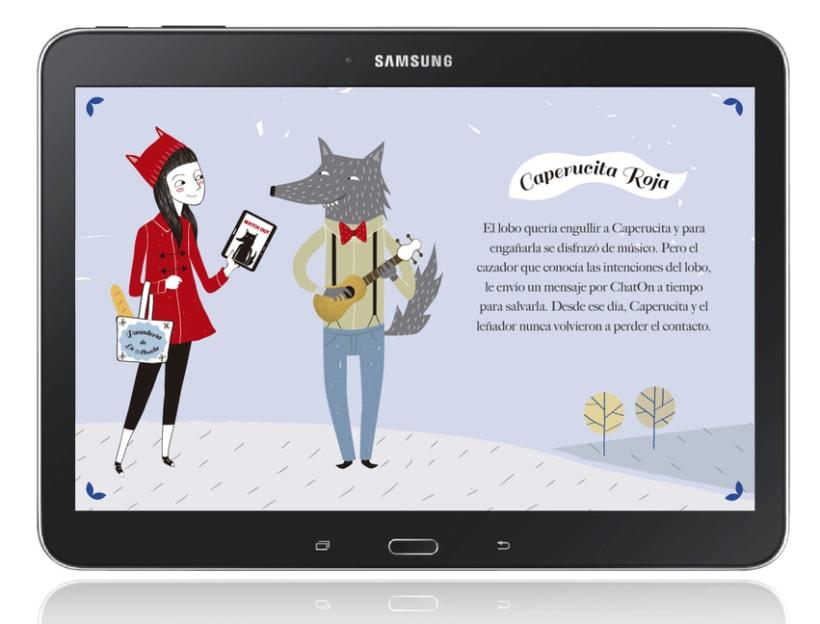 Ilustraciones Samsung Feria Libro Madrid 2