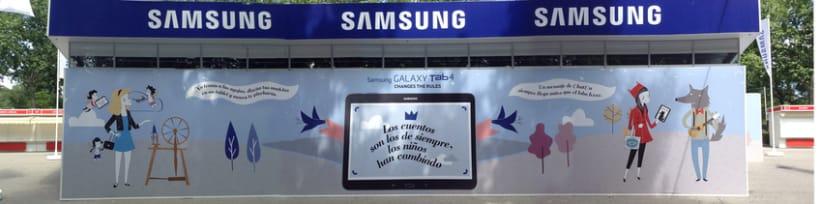 Ilustraciones Samsung Feria Libro Madrid 4