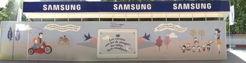 Ilustraciones Samsung Feria Libro Madrid 5