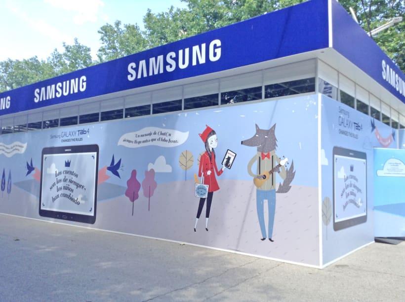 Ilustraciones Samsung Feria Libro Madrid 6