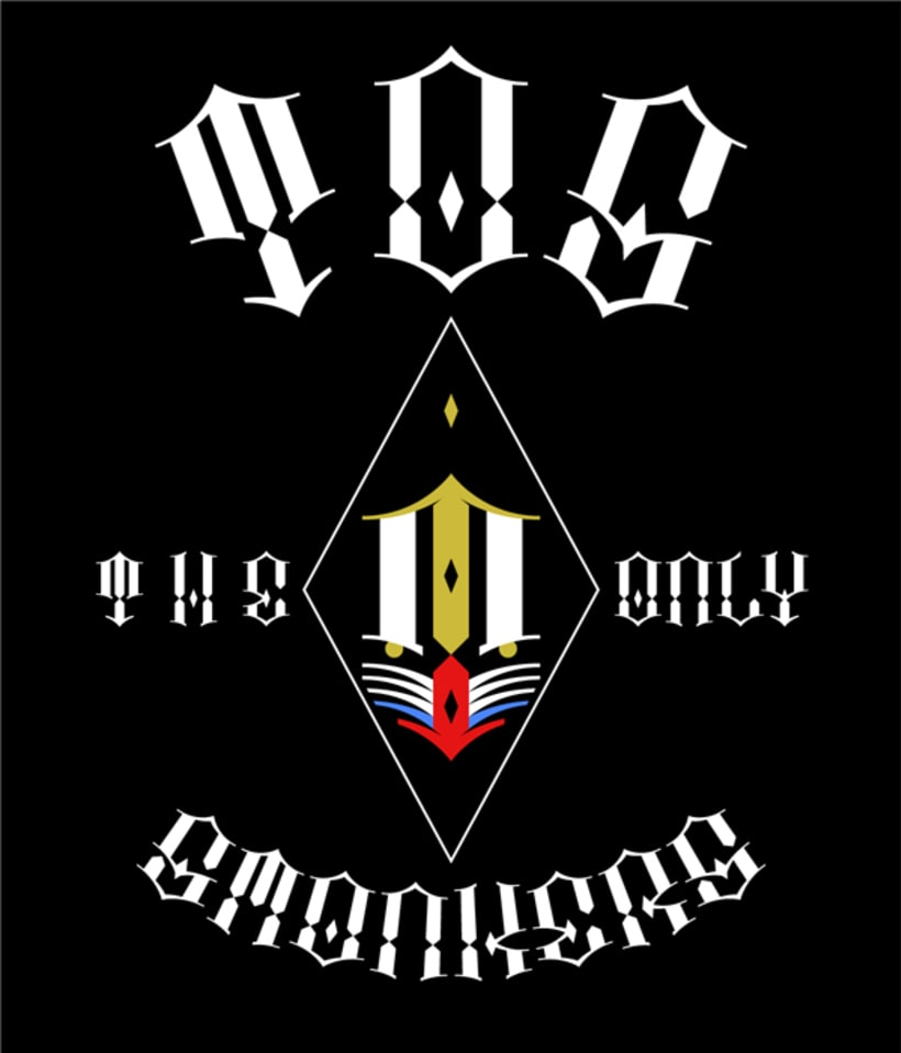 T.O.S The Only Smonkers Logo 7