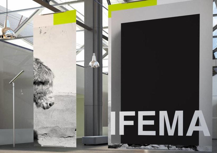 Diseño de paneles IFEMA Madrid 4
