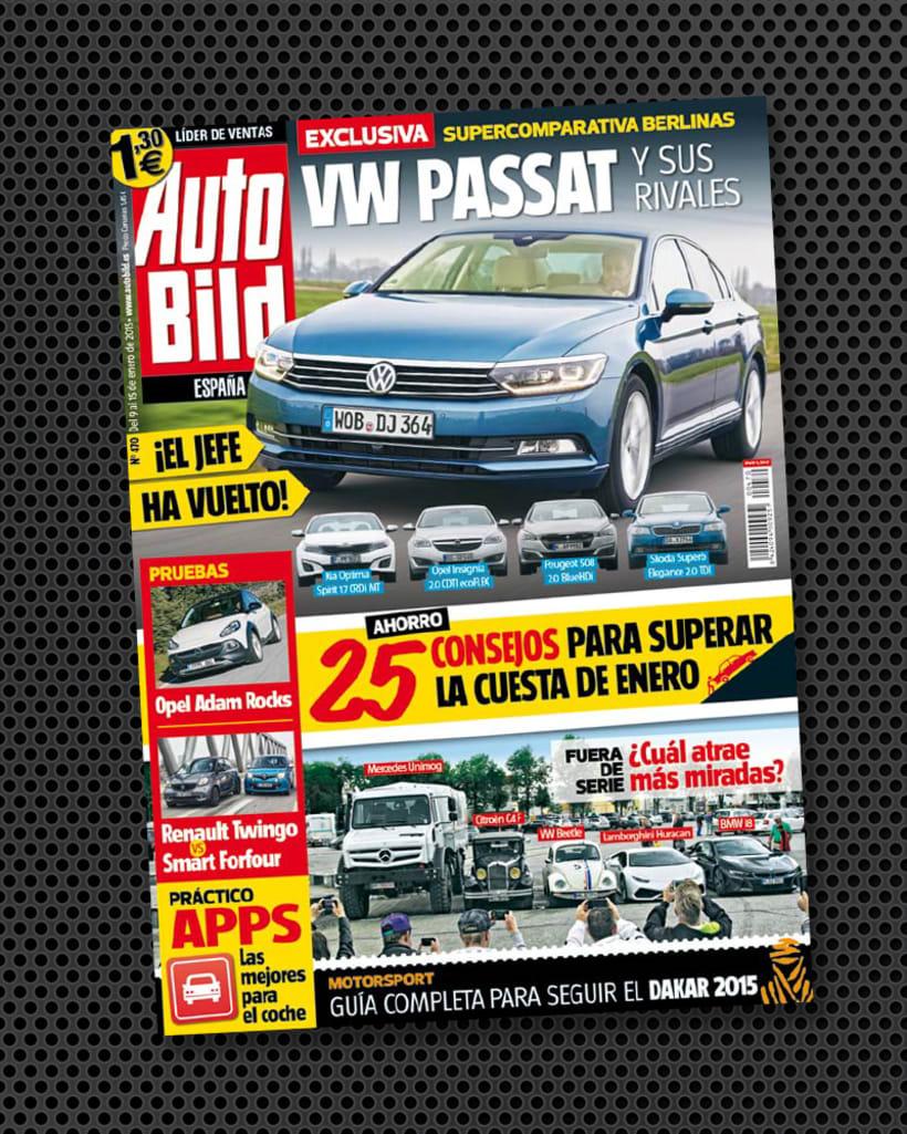 Revista AUTO BILD. 1